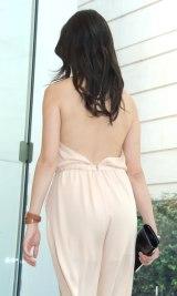 大胆な背中見せドレスで登場した橋本マナミ=GILTスペシャルイベント『FASHIONNOVATION』 (C)ORICON NewS inc.