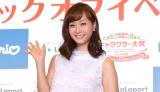 「サンリオキャラクター大賞コラボフェア」キックオフイベントに登場した藤本美貴 (C)oricon ME inc.