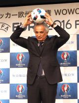 『UEFA EURO 2016TM サッカー欧州選手権』の制作発表会見に出席したヴァイッド・ハリルホジッチ氏 (C)ORICON NewS inc.