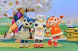 メインキャラクター(左から)ムームー、ガラピコ 、チョロミー(C)NHK