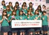 『セブン-イレブン×乃木坂46』記者発表会に出席した乃木坂46 (C)ORICON NewS inc.