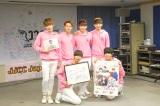日本デビューお披露目会見を行ったJJCC(前列左から)イコ、シンバ(後列左から)ユル、エディ、サンチョン、ジカ (C)ORICON NewS inc.