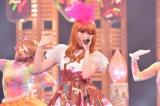 5月12日にNHK総合で放送予定の音楽番組『SONGS』(後10:50〜11:15)にきゃりーぱみゅぱみゅが登場(C)NHK