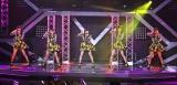 東京・中野サンプラザで全国ツアー東京公演を行ったJuice=Juice(左から)植村あかり、高木紗友希、宮本佳林、宮崎由加、金澤朋子