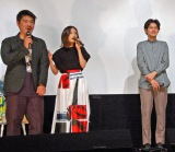 イタリアで開催された『第18回ウディネ・ファーイースト映画祭』受賞を知らなかったという前田敦子(中央) (C)ORICON NewS inc.