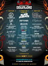 『DOWNLOAD FESTIVAL UK』にラインナップされたBABYMETAL(左列)