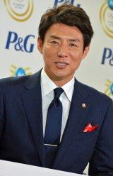 P&Gママの公式スポンサーキャンペーン新CM発表会に出席した松岡修造氏 (C)ORICON NewS inc.