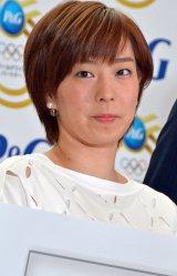 P&Gママの公式スポンサーキャンペーン新CM発表会に出席した石川佳純選手 (C)ORICON NewS inc.
