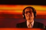 2013年に幕張メッセでパフォーマンスした冨田勲さん