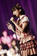 卒業を控え、最後のJKT48総選挙で3位にランクインした仲川遥香(C)JKT48project