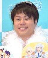 アイドル育成プロデュースゲーム『あんさんぶるスターズ!』の新CM発表会に出席したNON STYLE・井上裕介 (C)ORICON NewS inc.