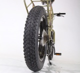 父親向け自転車・パパチャリ「88CYCLE」後輪の極太ファットタイヤ