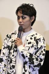 映画『シマウマ』の完成披露上映会に出席した須賀健太