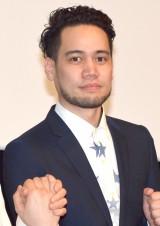 映画『手をつないでかえろうよ〜シャングリラの向こうで〜』の完成披露試写会に出席したJAY'ED  (C)ORICON NewS inc.