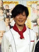 NHK・BSプレミアムで放送中のドラマ『最後のレストラン』主演の田辺誠一 (C)ORICON NewS inc.