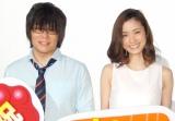(左から)声優の森川智之、上戸彩 (C)ORICON NewS inc.