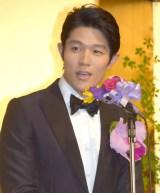 『第24回橋田賞』で橋田賞を受賞した鈴木亮平 (C)ORICON NewS inc.