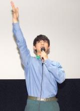 映画『オオカミ少女と黒王子』のトークショーに出席した吉沢亮 (C)ORICON NewS inc.