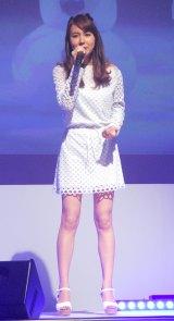 ディズニー・オン・アイス2016『アナと雪の女王』開催記者発表会に出席したMay J. (C)ORICON NewS inc.