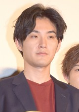 映画『殿、利息でござる!』の初日舞台あいさつに出席した松田龍平 (C)ORICON NewS inc.