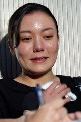 蜷川幸雄さんの通夜に参列した鈴木杏 (C)ORICON NewS inc.