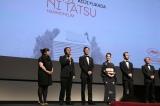 『淵に立つ』の舞台あいさつの模様 (C)Kazuko  Wakayama