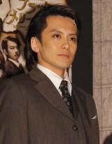 ミュージカル『ブラック メリーポピンズ』キャスト取材会に出席した小西遼生 (C)ORICON NewS inc.