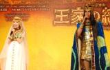 ミュージカル『王家の紋章』製作発表記者会見に出席した(左から)宮澤佐江、浦井健治 (C)ORICON NewS inc.