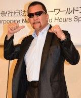 2年ぶりのリング復帰を決断したプロレスラーの蝶野正洋選手 (C)ORICON NewS inc.