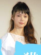 映画『世界から猫が消えたなら』初日舞台あいさつに出席した宮崎あおい (C)ORICON NewS inc.