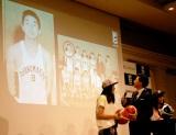 約50年前にバスケをしていた当時中村雅俊=男子バスケットボール『B.LEAGUE』開幕日・対戦カード発表会見 (C)ORICON NewS inc.