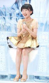 映画『スノーホワイト/氷の王国』公開直前イベントに出席した本田望結 (C)ORICON NewS inc.