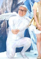 映画『スノーホワイト/氷の王国』公開直前イベントに出席したトレンディエンジェル・たかし (C)ORICON NewS inc.