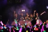 ℃-ute初の香港公演の模様