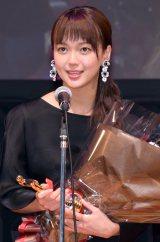『第25回 日本映画批評家大賞 実写部門』授賞式に出席した多部未華子 (C)ORICON NewS inc.