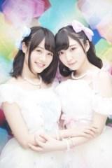 新レーベル「ロッカンミュージック」からメジャーデビューが決まったPyxis(左から)伊藤美来、豊田萌絵
