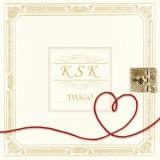 DAIGOの4thシングル「K S K」ウェディング盤