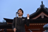 広島県にある世界遺産・厳島神社で奉納コンサートを行った藤井フミヤ