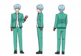 海藤瞬(CV:島崎信長)キャラクター設定画 (C)麻生周一/集英社・PK学園