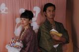 竹野内豊と松雪泰子は浴衣姿を披露(C)テレビ朝日