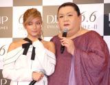 """『第二回""""TSUKEMAクイーン""""表彰式』に出席した(左から)ローラ、マツコ・デラックス (C)ORICON NewS inc."""