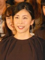 映画『クリーピー 偽りの隣人』のトークショーに出席した竹内結子 (C)ORICON NewS inc.