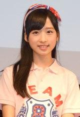 高校野球総合情報サイト『バーチャル高校野球』の公式応援キャラクターに就任したAKB48 Team8・小栗有以 (C)ORICON NewS inc.
