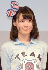 高校野球総合情報サイト『バーチャル高校野球』の公式応援キャラクターに就任したAKB48 Team8・服部有菜 (C)ORICON NewS inc.