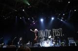 『LUNATIC FEST.』最終公演に出演したD'ELANGER