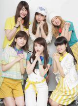 Little Glee Monster(前列左から)manaka、芹奈、アサヒ、かれん、MAYU、麻珠