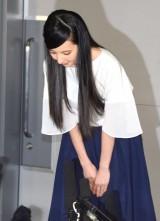 会見で謝罪するベッキー (C)ORICON NewS inc.