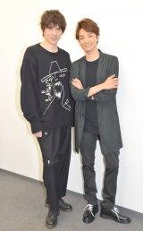 ミュージカル『エリザベート』取材会に出席したWキャストの(左から)城田優、井上芳雄 (C)ORICON NewS inc.
