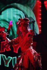 『日テレ HALLOWEEN LIVE 2015』夜公演のきゃりーぱみゅぱみゅのライブの模様(撮影:山内洋枝)