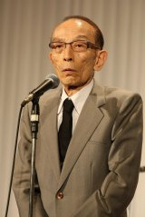 立川談志さんの『お別れの会』に参列した桂歌丸 (c)Tomohiro Akutsu